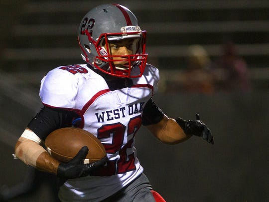 Liberty hosted West-Oak Friday night.