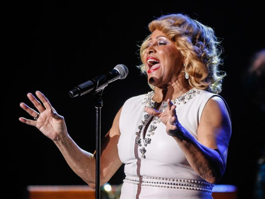 Darlene Love, shown performing at the Count Basie Theatre in Red Bank in 2013, is on the road for her Love for the Holidays tour.