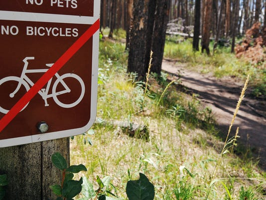 Bikes in National Parks