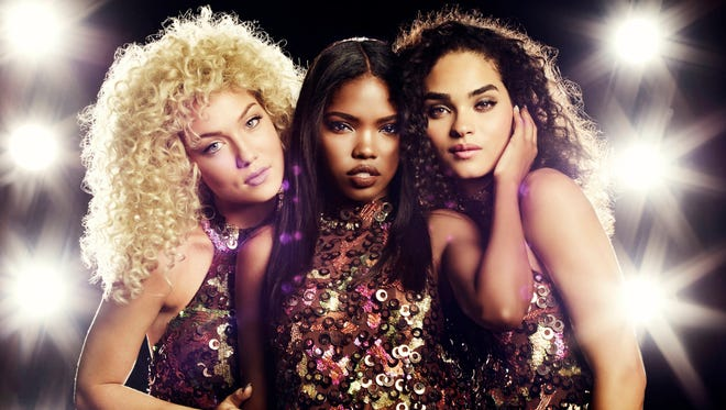 """Jude Demorest (from left), Ryan Destiny and Brittany O'Grady portray the rising girl group at the heart of """"Star,"""" airing Wednesdays on Fox."""