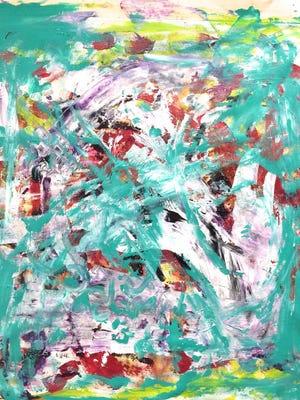 """Crazy Finger Prints,"" by Destiny, age 11."