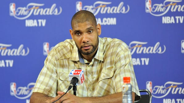 Apparently Tim Duncan is spending his retirement in