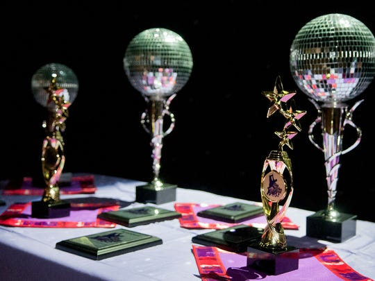 Awards for Look Who's Dancing Season Nine at the Pan American Center Sunday afternoon. 10/23/16