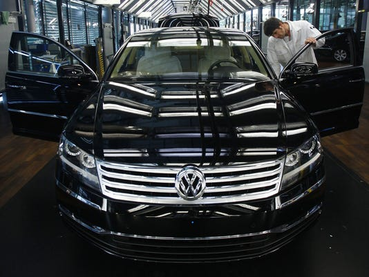 Production Of The Volkswagen Phaeton