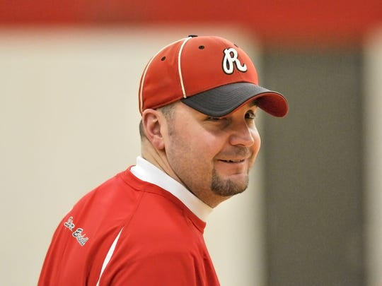 Rocori head coach Jeff Illies is pictured in 2011.