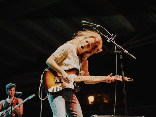 Lissie performs at the Johnson Controls World Sound