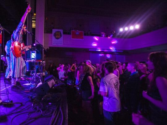 Madaila at Contois Auditorium during the Discover Jazz