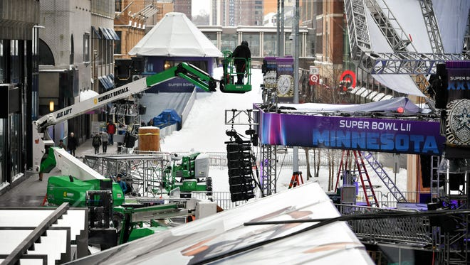 Super Bowl Live officially kicks off Friday afternoon on Nicollet Mall in Minneapolis.