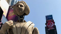 UNC Asheville team sees their work unveiled in Times Square