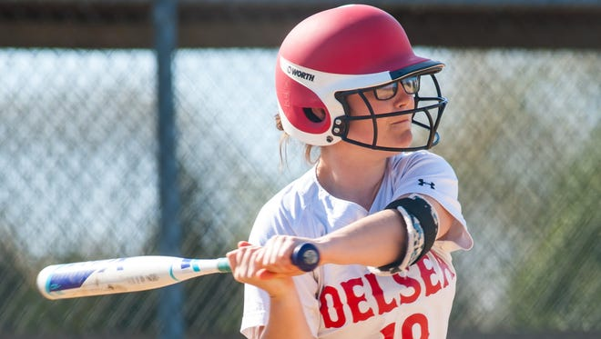 Kaylin Power and Delsea are included in this weekend's Hammonton Invitational Tournament, one of South Jersey's top spring athletic events.