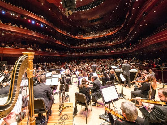 The Philly Pops, in performance at the Kimmel Center's Verizon Hall.
