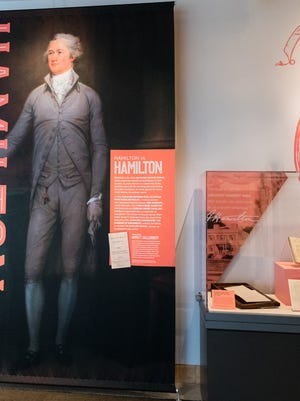 'Hamilton: The Constitutional Clashes that Shaped a Nation' runs through Dec. 31 at the National Constitution Center in Philadelphia.