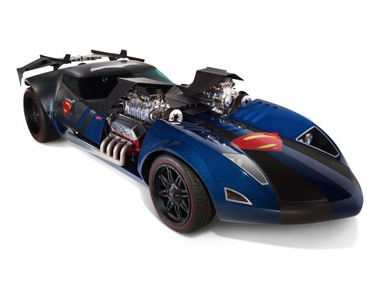 A life-sized Hot Wheels build of a car celebrating