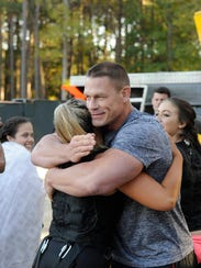 "Host John Cena in the ""Find Your Grit"" season premiere"