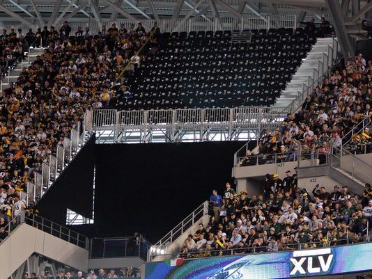 Super Bowl Seating Mess Football