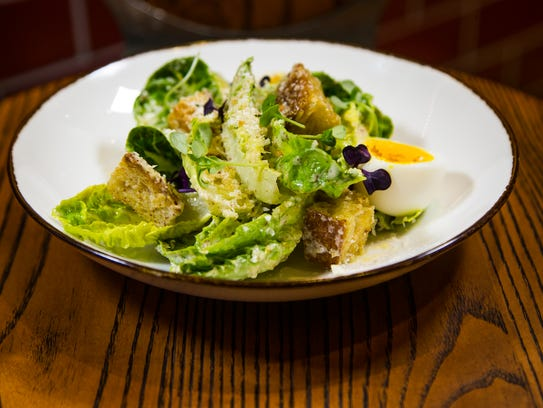 These are the little gem lettuces from Mora Italian,