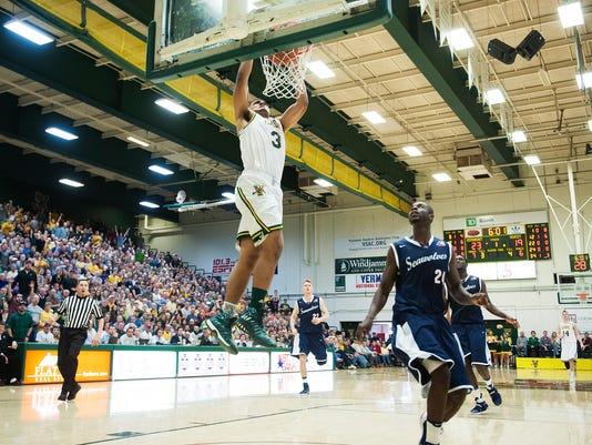 UVM Stony Brook basketball
