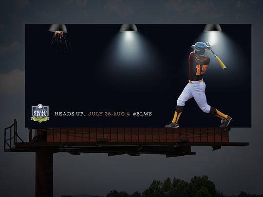 """Jackson  Marketing was honored with a 2016 Best Billboard Campaign, along with a Gold OBIE, for its """"2015 Season Kickoff"""" campaign for the Big League Baseball World Series."""