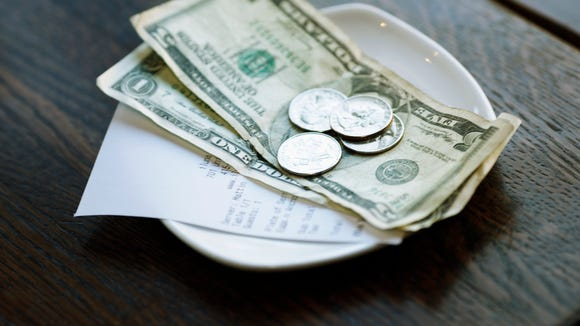 Maybe it's time to eliminate tips for restaurant workers and pay them living wages.