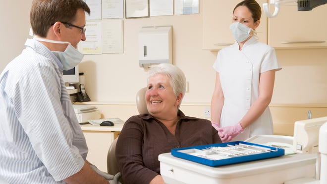 Medicare Advantage plans may include vision, hearing and dental care for an extra cost.