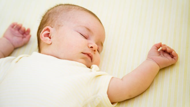 Babies should sleep in clutter-free, smoke-free environments, according to the American Academy of Pediatrics.
