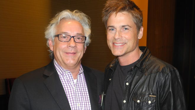 Rusty Terry, left, and Rob Lowe during the media reception at the 2014 Great Futures Gala, a fundraiser for the Boys & Girls Clubs of Middle Tennessee, helad at Omni Nashville Hotel.