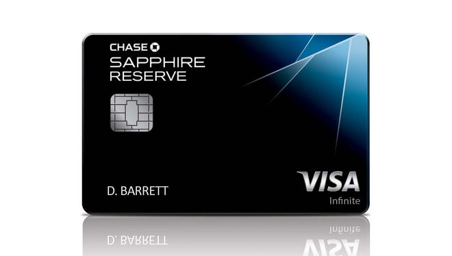 Chase had put an extraordinary incentive on a new credit card, the Chase Sapphire Reserve.