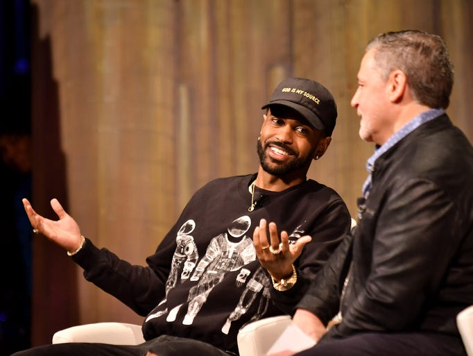 "Sean ""Big Sean"" Anderson talks with Quicken Loans founder"
