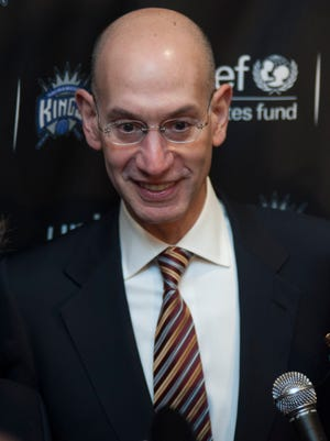 NBA Commissioner Adam Silver has taken a long path to the top of the NBA.