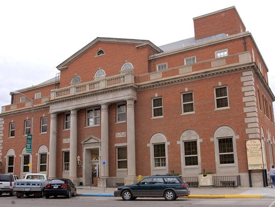 The former Post Office in Havre.