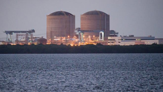 The St. Lucie Nuclear Plant on South Hutchinson Island near Fort Pierce in St. Lucie County.