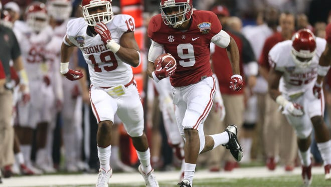Amari Cooper is one of five players from the state of Alabama on the Biletnikoff Award preseason watch list released Tuesday.