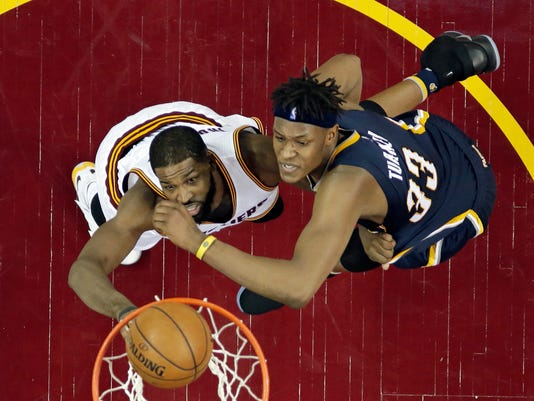 Myles Turner, Tristan Thompson