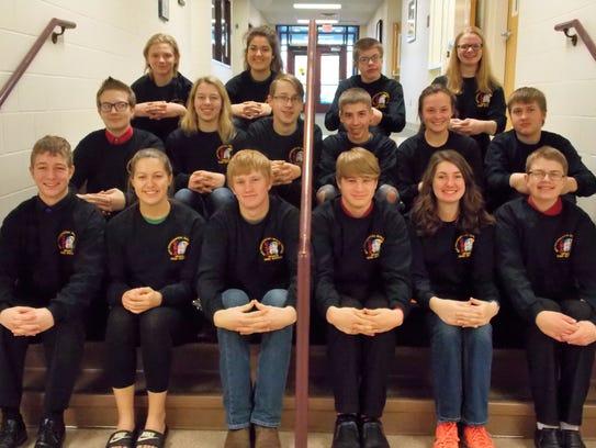 Seventeen Upsala High School students will be attending