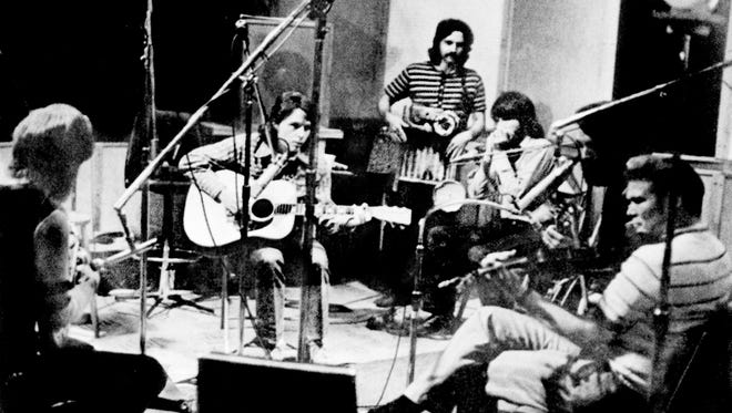 "The Nitty Gritty Dirt Band records ""Will the Circle Be Unbroken"" in August 1971 in East Nashville."