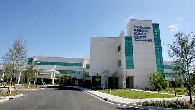 This file photo shows Physicians Regional Medical Center on Collier Boulevard in East Naples.