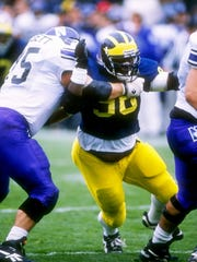 Will Carr was 12 credits shy of his degree when he left Michigan after the 1996 season.