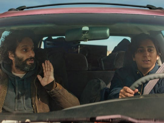 "Jason Mantzoukas, left, and Tony Revolori star in ""The"