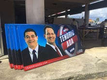 Tenorio-Ada gubernatorial team to make it official Thursday