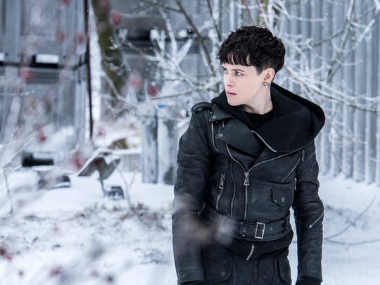 "Claire Foy did many of her own stunts shooting ""The Girl in the Spider's Web"" in Sweden last winter."