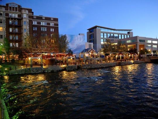 Reno's Riverwalk district