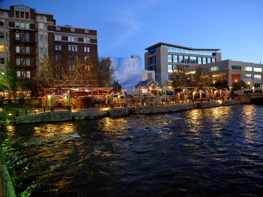 Reno's Riverwalk district