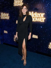 """Laura Benanti at the """"Meteor Shower"""" opening night on Broadway on November 29, 2017, in New York City."""