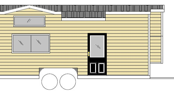 The St. Lucie County Habitat for Humanity Tiny Home is under construction, but this picture is similar to the one being built for the auction.