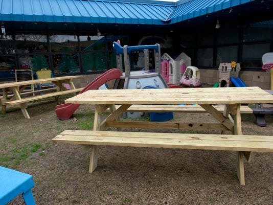 Escambia Westgate-Picnic Tables