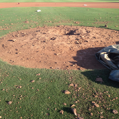 Chaparral's Jerry Dawson Field was found vandalized