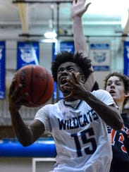 Dallastown's Da'Trail Albert finished with 22 points