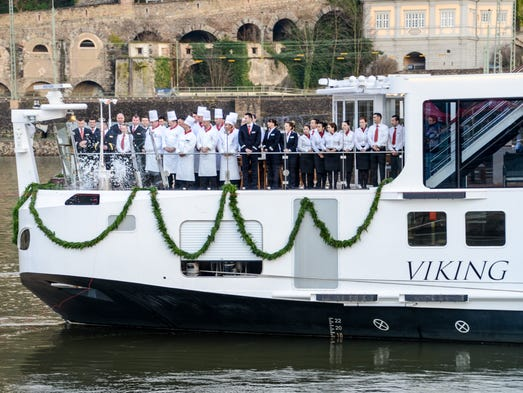First Look Viking River Cruises New Ship In Europe - River cruise ships europe
