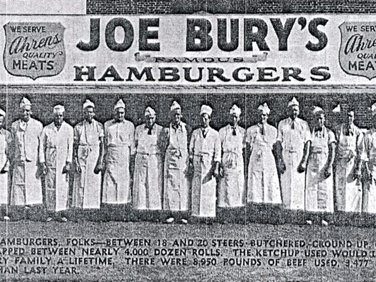 Joe Bury's Hamburgers were a York County staple, with