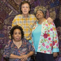 "Paul McCartney met with Thelma Mothershed Wair and Elizabeth Eckford of the Little Rock Nine, whose bravery introduced a young Paul to the civil rights movement and inspired the lyrics of ""Blackbird"" at his concert Saturday at Verizon Arena in North Little Rock"